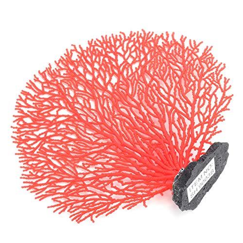 JULYKAI Korallendekorationen, rote Korallenverzierungen, langlebige Mini-Exquisite Simulation für...