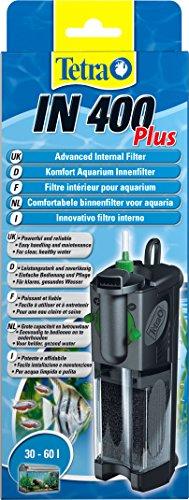 Tetra IN 400 plus Innenfilter, zur biologischen und chemischen Filterung) geeignet für Aquarien mit 30...