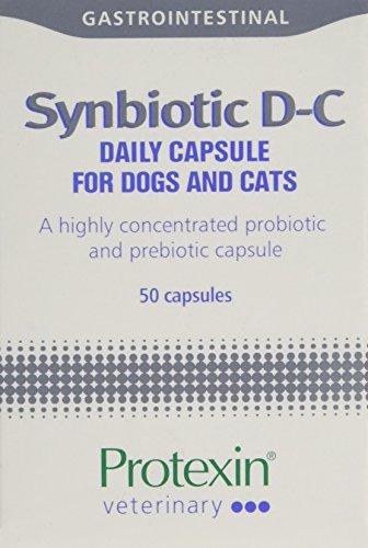 Protexin Synbiotic D-C 50 Kapseln. Für Hunde und Katzen