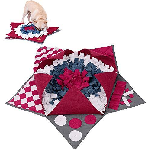 Schnüffelteppich Hund, Snuffle Mat Schnüffelmatte Futtermatte Schnüffeldecke Schadstofffrei für Hund,...