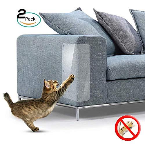 Galaxer Katzen-Kratzschutz 2 in 1 Flexibler Transparenter Kratzschutz Schutz Möbel vor Katzen...