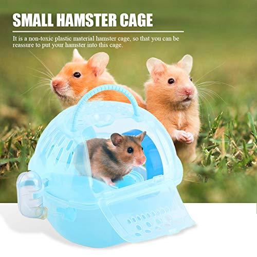 Liujaos Voll ausgestattetes Zubehör Atmungsaktiver Käfig Tragbarer Hamsterkäfig, Hamsterzubehör,...