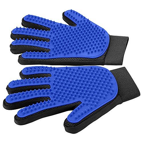 Haustier Handschuh Sanfte Fellpflegehandschuh Effizienter Handschuh Massagehandschuh mit verbessertem...