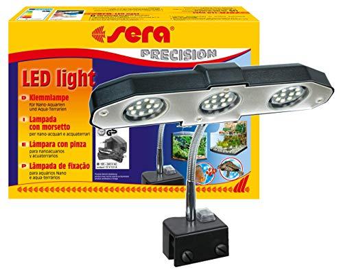 sera 31138 LED light 3 x 2 W eine LED-Lampe (6W / 12V) mit schlankem Reflektor zur Beleuchtung fürs...