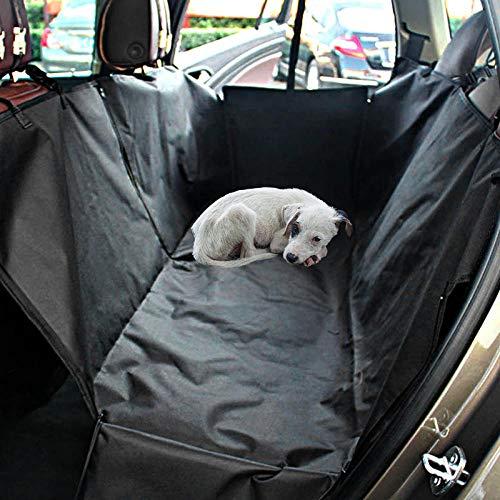 Ghongrm Autositz Hund Klein Schwarz Autositzschutz Hund für Kleine und Große Autos, SUVs und Mpvs,...