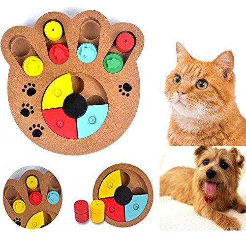 Cisixin Haustier Intelligenzspielzeug in Tatzenform für Hunde