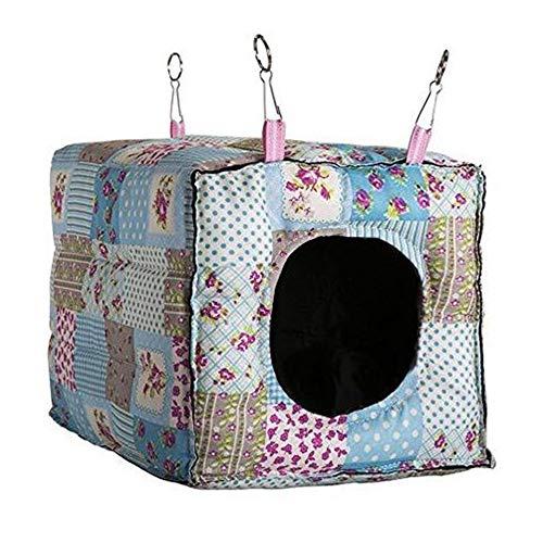 MINGZE Hängematte für Kleintiere Frettchen Ratte Meerschweinchen Hamster Chinchilla, Luxus Hängematte,...