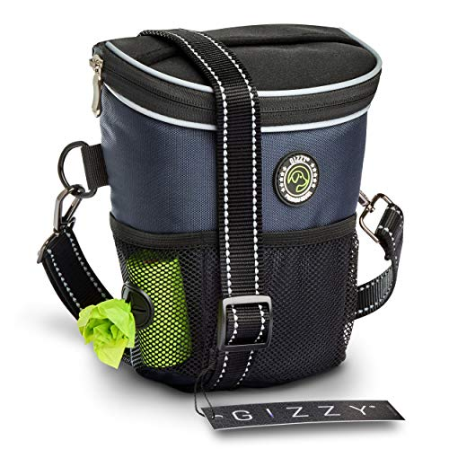 GIZZY® NEU - Premium Leckerlibeutel für Hunde - Innovative Einhand-Öffnung zur blitzschnellen...