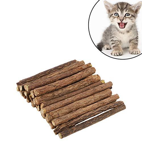 Auidy_6TXD 30 Stück Katzenminze Sticks, zur Katzen Zahnpflege und gegen Mundgeruch der Katze,...
