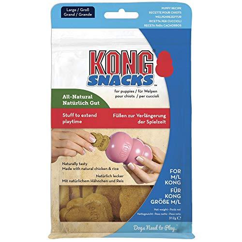 KONG – Snacks – Hundesnacks mit Natürlichen Zutaten (Ideal Kautschuk) – Welpenkekse – Für...