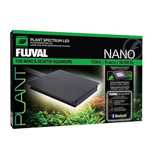 Fluval Plant 3.0, Nano LED Beleuchtung für Süßwasser Aquarien, 12,7 x 12,7cm, 15W
