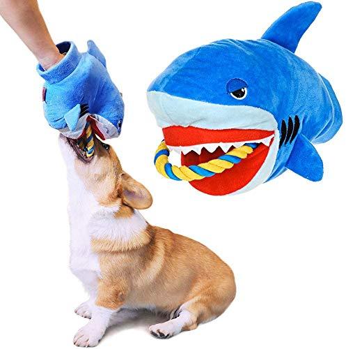 Plüschspielzeug Seil Hundespielzeug, interaktives Plüsch-Training Kauseil Spielzeug