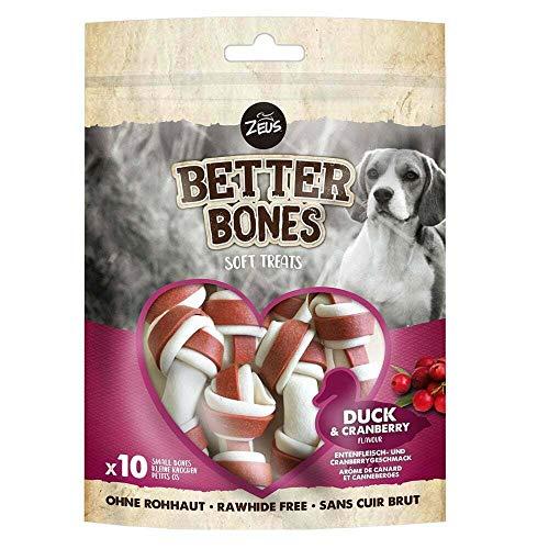 Zeus BetterBones Kauknochen mit Entenfleisch- und Cranberrygeschmack, 220 g