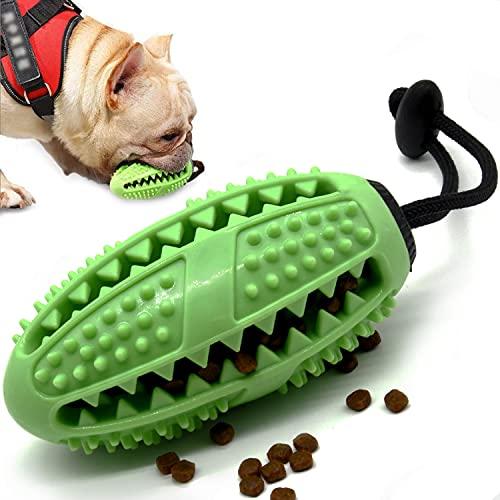 Aidiyapet Zahnbürsten-Stick,Ball Leckerli-Spender für Hunde Welpen-Zahnpflege, Bürsten und...
