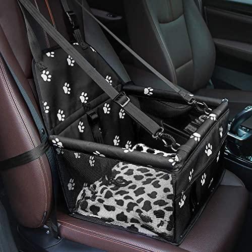 Shumya Faltbare Auto vorne und hinten Haustier Katze und Hund Tasche Haustier Auto Matte Supplies Auto...