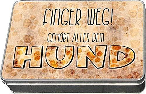 Cadouri Leckerli-Dose FINGER WEG! Snackdose Keksdose Aufbewahrungsdose┊tolle Geschenkidee für...