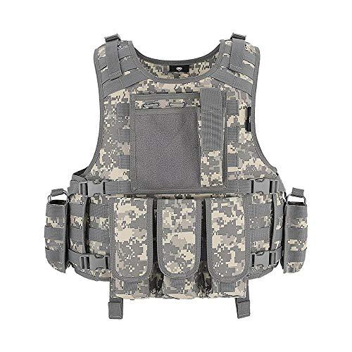 Taktische Weste, Molle-System, Luftgewehr, Paintballweste, Jagdweste im Freien, Militär, Polizeiweste
