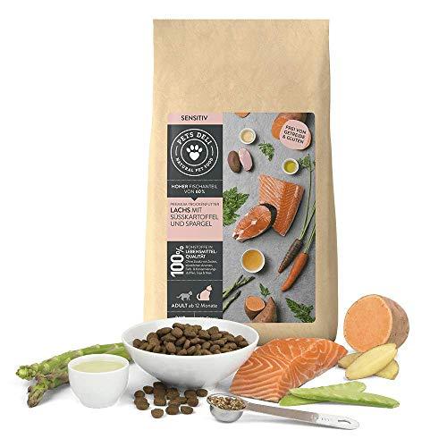 PETS DELI - NATURAL PET FOOD Katzenfutter trocken 400 g | Premium-Qualität | Lachs mit Süßkartoffel...