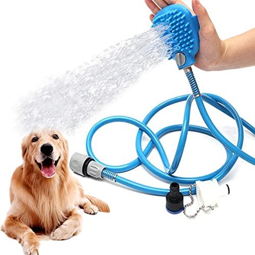 Hund Dusche Sprayer, FayTun hundedusche Haustier Bürste Werkzeug Haustier Bürste Dusche...