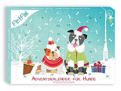 PetPäl Hunde Adventskalender 2020 - DIE leckersten Snack & Leckerlis für deinen Hund zu Weihnachten -...