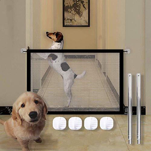 Faltbar hundeschutzgitter,Hunde türschutzgitter,Türschutzgitter,Absperrgitter für Haustier Hunde...