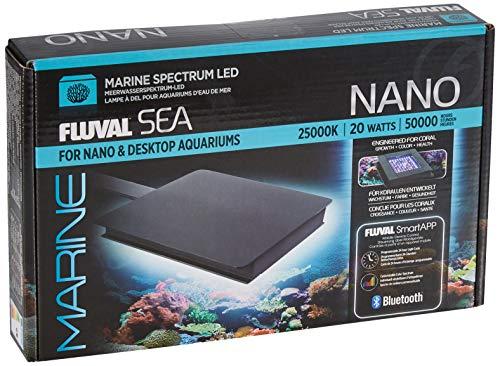 Fluval Sea Marine 3.0, Nano LED Beleuchtung für Meerwasseraquarien, 12,7 x 12,7cm, 20W