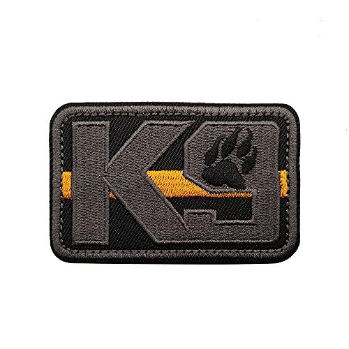 Veelkrom K9 & Crossbone Killer Attack Polizei Hund Verschluss Patch bestickt Armee Swat Moral Hook Loop...