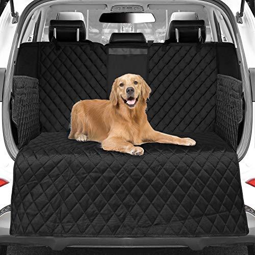 WOMGF Hund Kofferraumschutz mit Seitenschutz wasserabweisend Kofferraumdecke mit Aufbewahrungsbeutel...