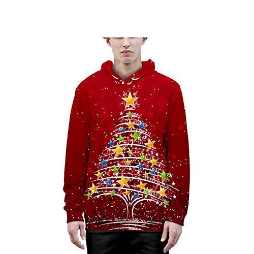 Mr.BaoLong&Miss.GO Herbst und Winter Eltern-Kind-Kleidung Kinder Weihnachtskleidung Liebhaber...