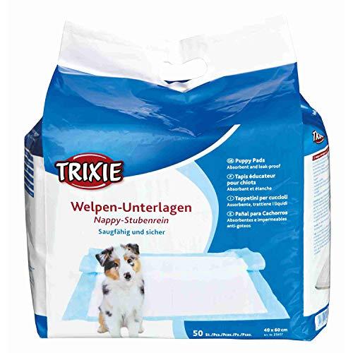 Trixie 23417 Welpen-Unterlage Nappy-Stubenrein, 40 × 60 cm, 50 St.