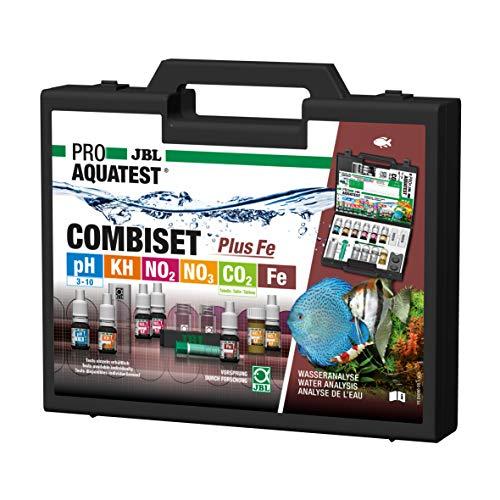 JBL Wassertest-Koffer, Mit 6 Tests und Zubehör, Für Süßwasser-Aquarien, ProAquaTest Combi Set Plus Fe