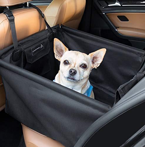 LIONSTRONG Hunde Autositz, kleine bis mittlere Hunde, Hundesitz wasserdicht, Hundedecke, Einzelsitz für...