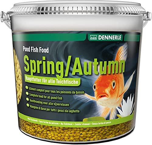 Dennerle Pond Fish Food Autumn, 10 Liter - Fischfutter Sticks für Teichfische Herbst - Teichsticks...