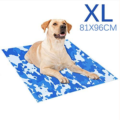 GoPetee Kühlmatte für Hunde Kühlkissen zur Abkühlung in der Sommerhitze Tiere Kühldecke geeignet...