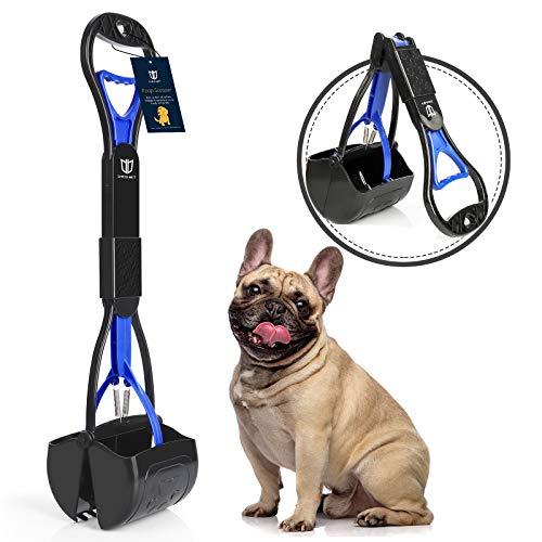 Degbit Hundekotschaufel für große und kleine Hunde, langer Griff, tragbare Hundekotschaufel, hochfeste...