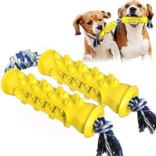 NAINAIWANG Hundekauspielzeug für Welpen Zahnen Haustier Beißring Langlebige Hunde Welpenspielzeug...
