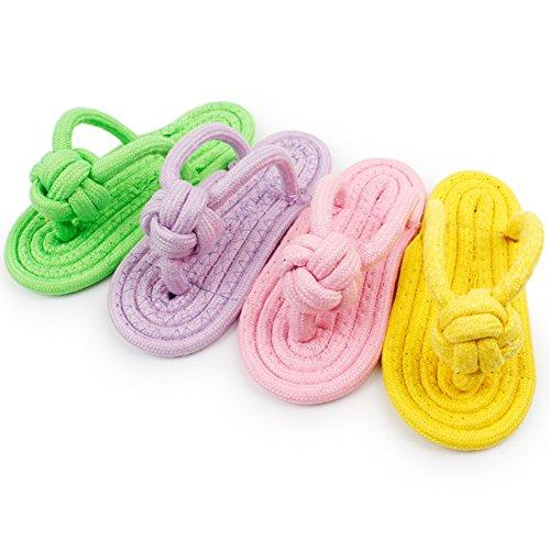 Namgiy Hundespielzeug Kauspielzeug für Haustiere, bissfest, interaktive Übung, gesunder Knoten,...