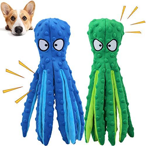 GHEART Quietsch Spielzeug für Hunde, Plüschstoff Spielzeug, Quietschendes Kauspielzeug für Welpen,...