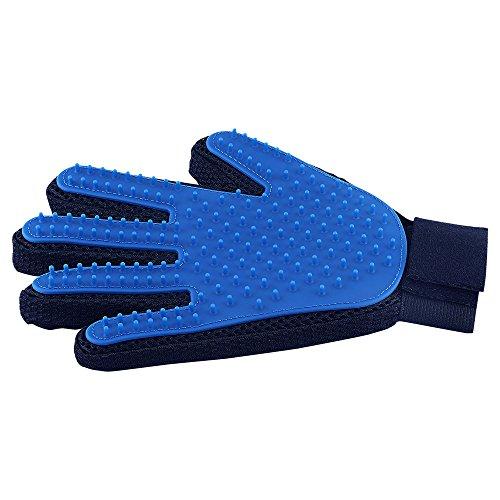 Fellpflege-Handschuh für Haustiere, sanfte Enthedderungsbürste – Effizienter Tierhaarentferner...