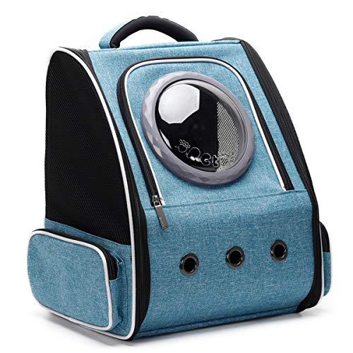 Erweiterbarer Katzentrager-Rucksack für Katzen, Weltraumkapsel Bubble Pet Travel Carrier für kleine...