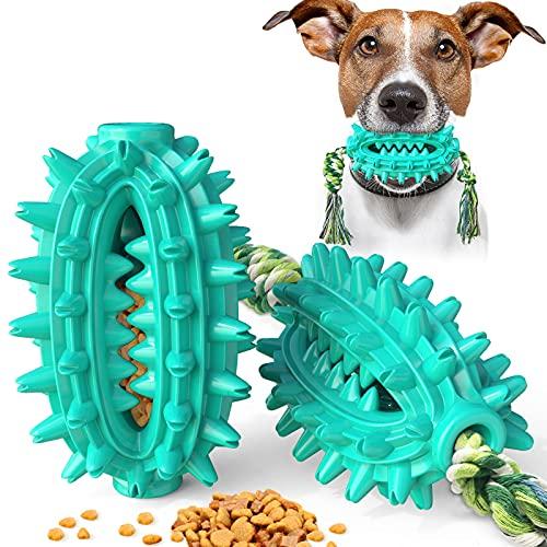 PewinGo Hundespielzeug Ultra-langlebiges Chewer-Dog Zahnbürste Robustes Kauspielzeug für Langeweile...