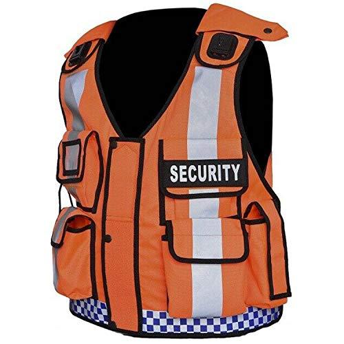 Warnweste für Hunde, Sicherheitsweste für Überwachungskamera, Durchsetzung, Tac Vest (drücken)