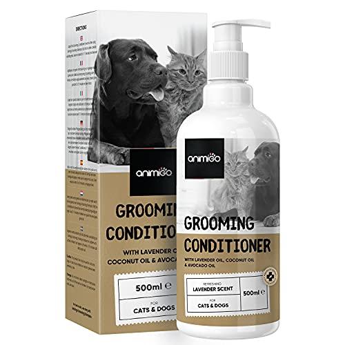 Animigo Conditioner für Hunde & Katzen - 500ml Spülung - Schonende Fellpflege für Katze und Hund -...