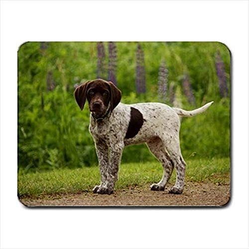 Zeiger-englischer Zeiger-Mausunterlage-Matte- Hundezahn 30X25CM