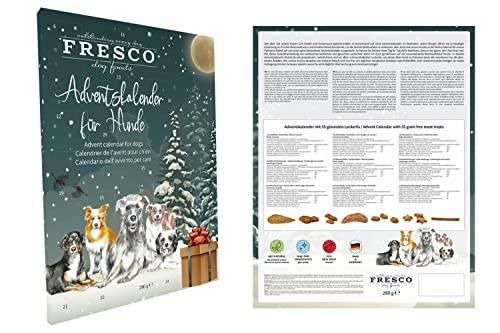 Fresco Adventskalender (gemalte Hunde)