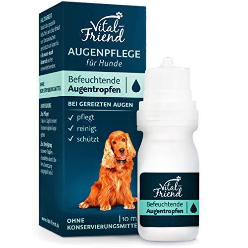 Vital-Friend – sanfte Augenpflege & Augenreinigung für Hunde - Konservierungsmittelfrei - befeuchtende...