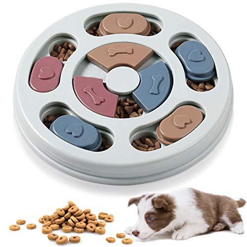 Hundespielzeug intelligenz Welpenspielzeug,Hund Puzzle Feeder Spielzeug,Hundefutter...