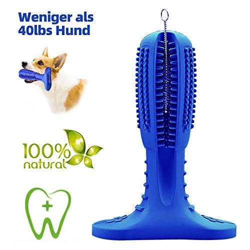 JarGaBo Hundezahnbürste, Hundezahnpflege Toy, Hunde Kauspielzeug Toy Naturgummi Molar Stick mit...
