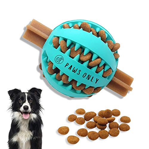 PawsOnly UK Leckerli-Spender Hundespielzeug Ball   Interaktives Hundespielzeug gegen Langeweile  ...