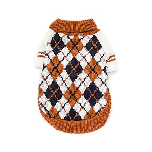 Idepet Hund Haustier Sweatshirt, Winter Warm Hund Katze Jumper Kleidung, Bequeme Pet Coat Kostüm Puppy...
